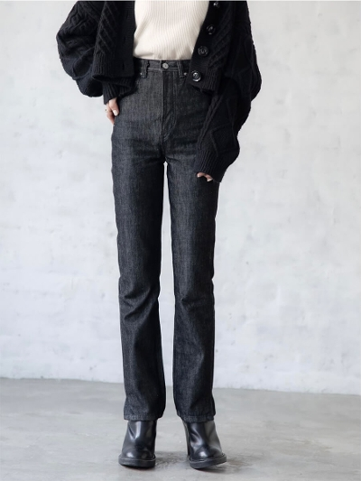 【NEW】amel × SOMETHING<br /> smaller size<br /> SLIM STRAIGHT DENIM / rigid