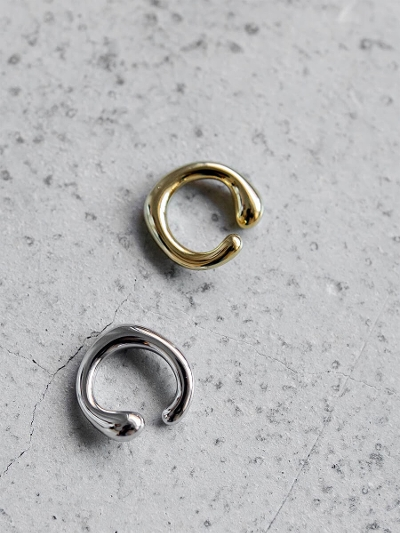 【NEW】ring ear cuff