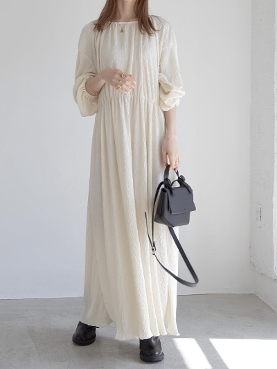 【NEW】relaxy long dress